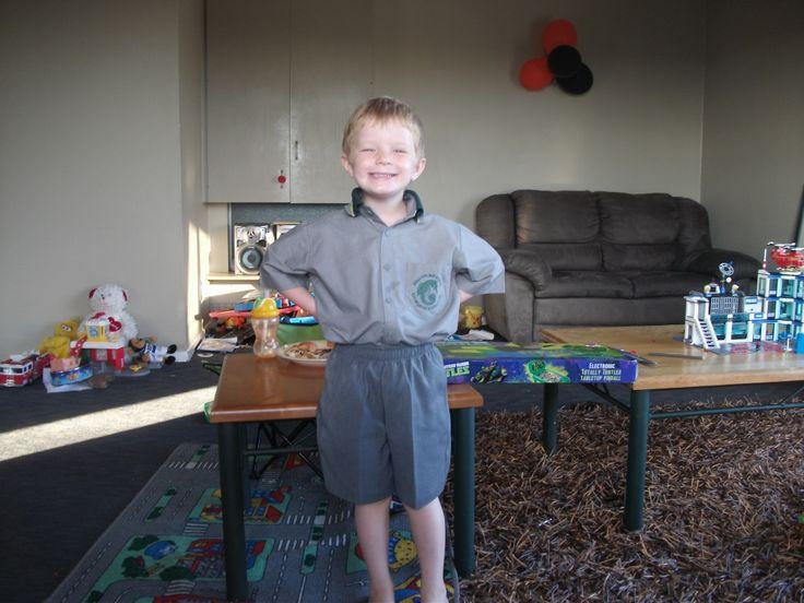 The big school boy