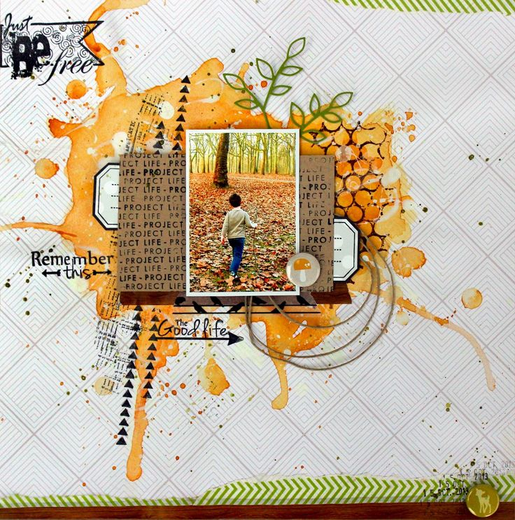 Remember This scrapbook layout by Shannon