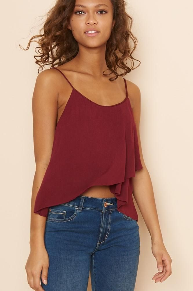 Cross Front Cami