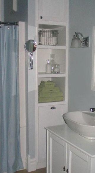 Diy Small Bathroom Storage Redesign Suzyrenovator