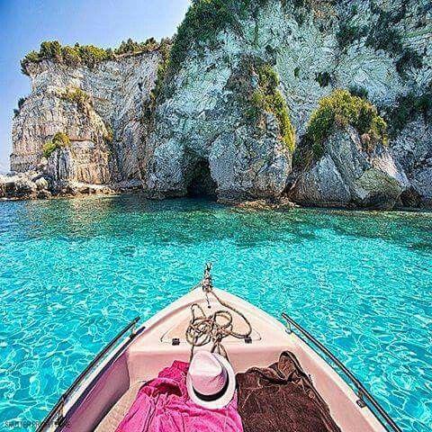 Paxos island Greece