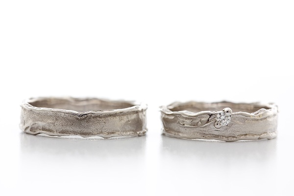 "Trouwringen Wim Meeussen ""W436"" Beautiful Wedding Rings  Me gustan mucho!"