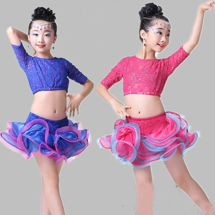 >> Click to Buy << Child Children Performance Girl Ballet Dance Dress For Girls Cha-Cha Kid Latin Dress Lace Dancing Dancewear Kid Latin Costume #Affiliate