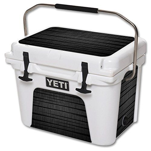 MightySkins Protective Vinyl Skin Decal for YETI Roadie 20 qt Cooler wrap cover sticker skins Carved Wood *** Find out more about the great product at the image link.(This is an Amazon affiliate link and I receive a commission for the sales)