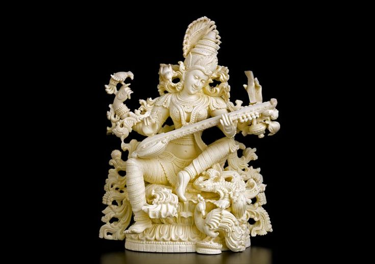 Look online marble arts gallery! Where you will find makarana marble statues or handicrafts -