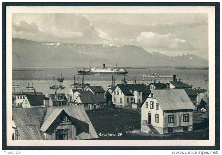 Iceland Island REYKJAVIK
