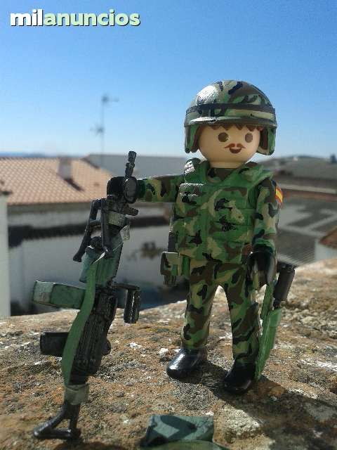 Contemporary Spanish Soldier 01 | Playmobil | Playmobil ...