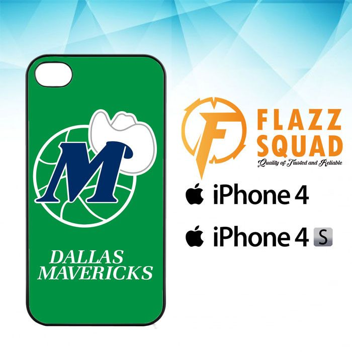 Dallas Mavericks Logo E0815 iPhone 4|4S Case