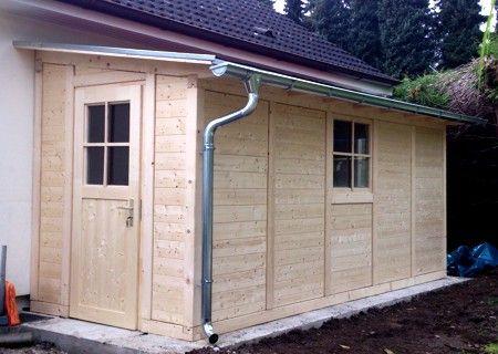 Anlehnhaus Anlehn03 (mit Bildern) Anbau gartenhaus
