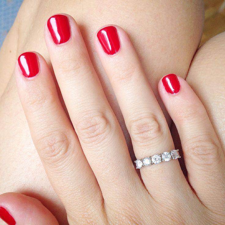 red dior nails manicure rosso dior mani manicure semipermanente smalto