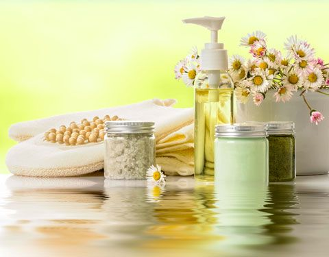 Rezept für Duschgel mit Peeling-Effekt - macht die Haut wieder zart und rosig.  www.ihr-wellness-magazin.de