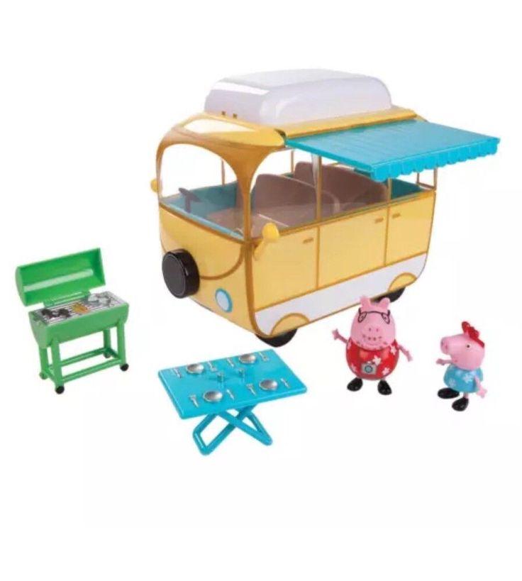 Peppa Pig Family Camper Van Playset    eBay