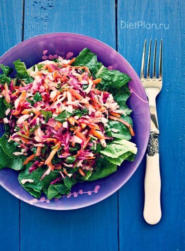 Детокс салат с капустой