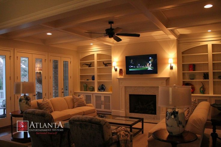 At Atlanta Entertainment Systems, they provide residential home automation, family room solutions, basement solutions, outdoor entertainment, home theaters and media room, TV installations, automation and lighting, wiring and lot more. We have knowledgeable staff who are expert at installing home entertainment systems to create an incredible atmosphere in one's home. #homeentertainmentinstallation #homeautomationlighting #homeautomationideas #hometheaterinstallation