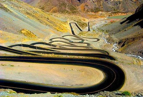 Very cool. Santiago de Chile and Mendoza, Argentina. The road known as the los caracoles (the snails).