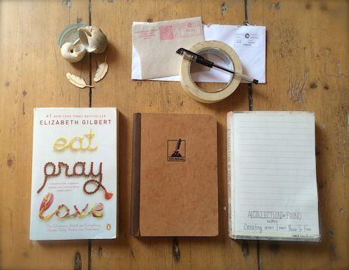 Create Each Day: A Found Words Art Journal on http://www.createmixedmedia.com