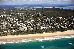 Sunshine Beach aerial photo