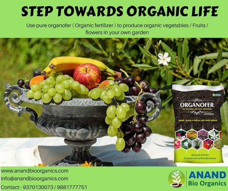 Step towards organic life. #Anand #bio #organics ( Organofer ), provides #organofer #best #organic #fertilizer #in #Pune #Maharashtra. 100 % organic which enhances the quality of fruits , flowers / vegetables. #terrace #gardening, #Kitchen #gardening #organic #farming. For more details please visit - http://www.anandbioorganics.com/index.p…/products/organofer/