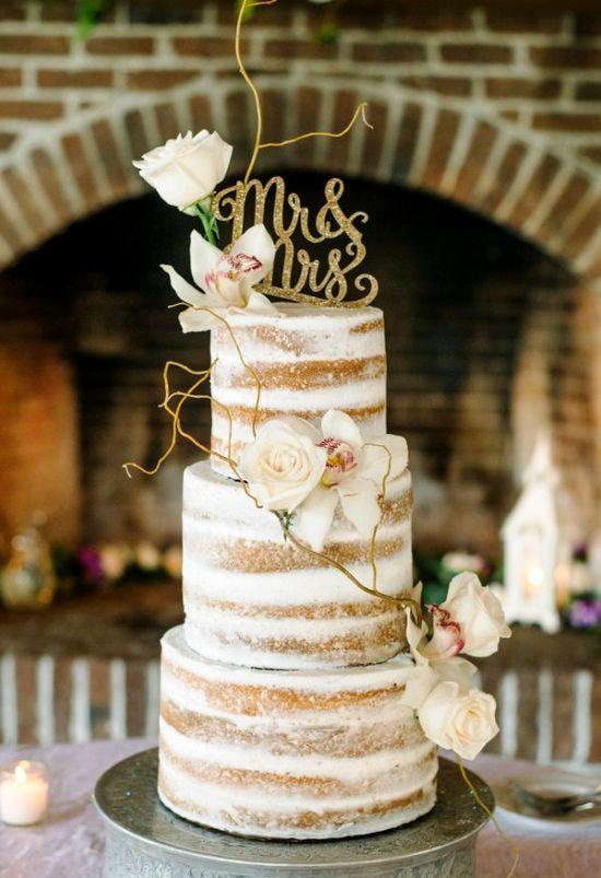 80 idéias e dicas de decoração de bolos de casamento   – Hochzeit