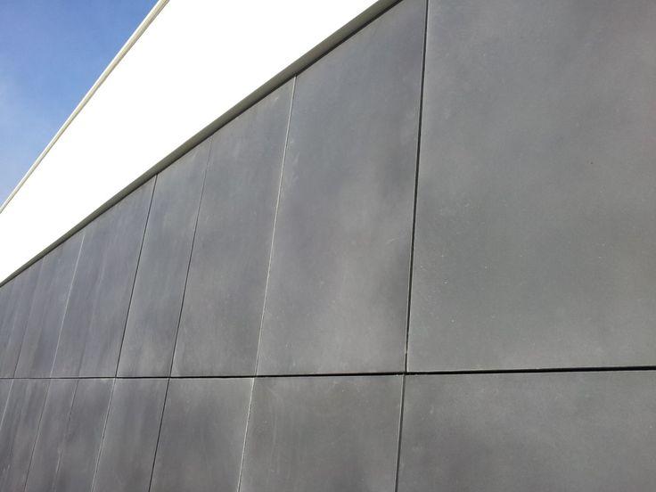 Facade of detached house