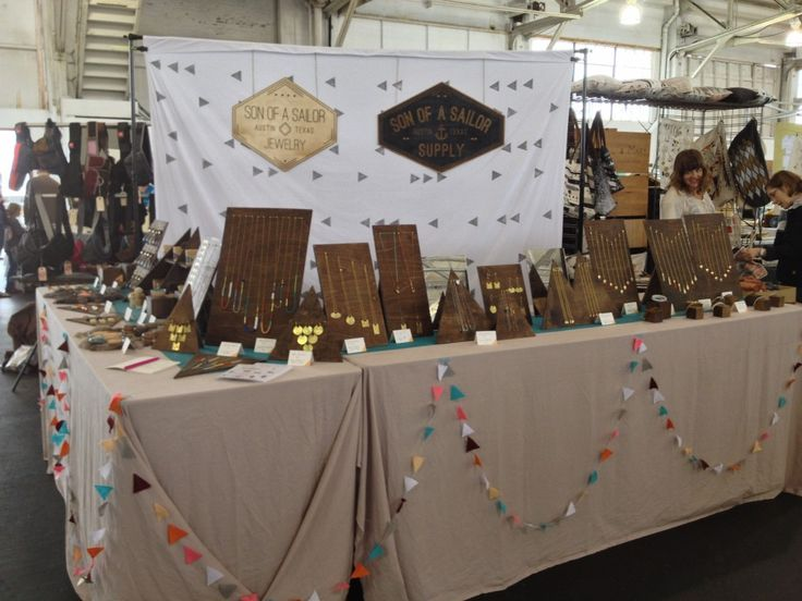 son of a sailor - Craft fair display ideas - dear handmade life
