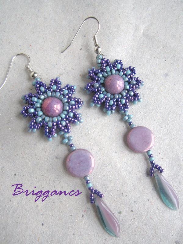 Briggancs.   I would like to make the flower into a bracelet.
