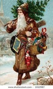 Old Fashioned Santa Claus / Christmas