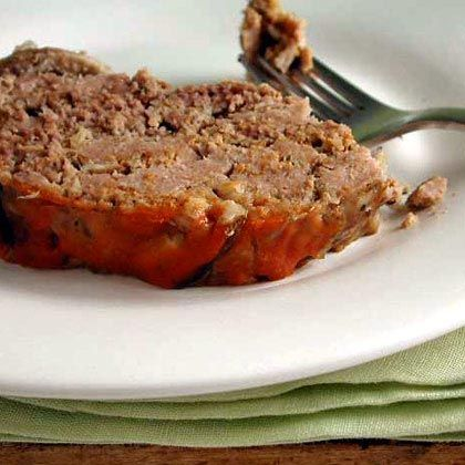 Slow Cooker & Under 300 cal - Meatloaf w/ Shiitake Mushrooms (using part ground turkey to save on cals)