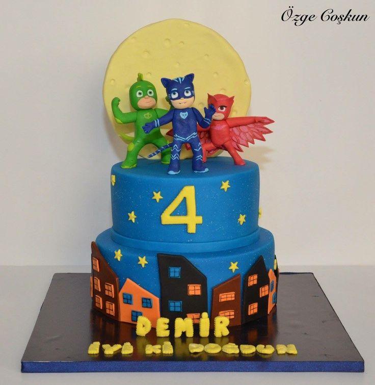 Pj masks pasta, cake