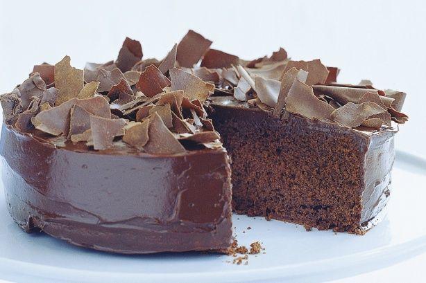 Rich chocolate cake (receipe inside)