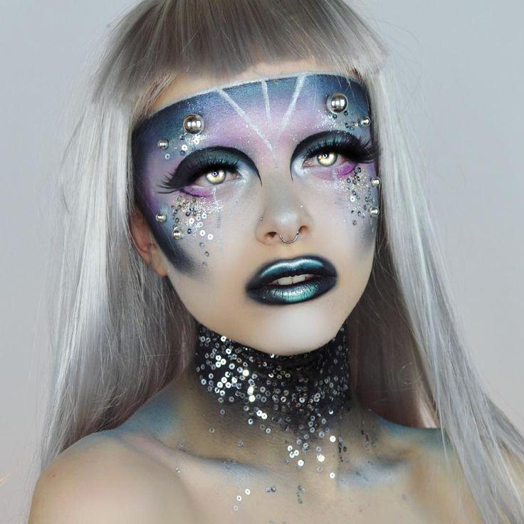 Best 25+ Robot makeup ideas on Pinterest | Body paint cosplay ...