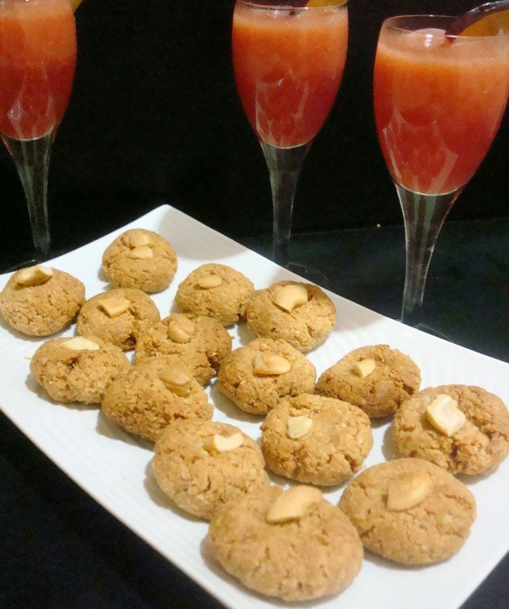Vegetarian Indian Recipes: Peanut Butter Coconut Macaroons