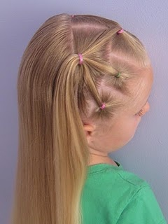 SO cute! I think it would work in shorter hair, too...definitely gonna try this one.