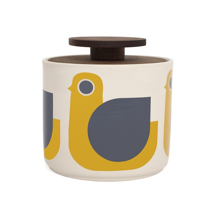 Discover the Orla Kiely Storage Jar - 1L - Hen at Amara