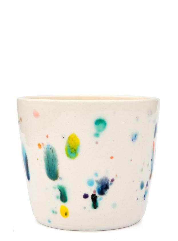 Confetti Ceramic Cup