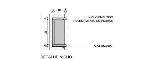 nicho banheiro tamanho  Pesquisa Google  Idéias  Pinterest -> Nicho Banheiro Box Medidas