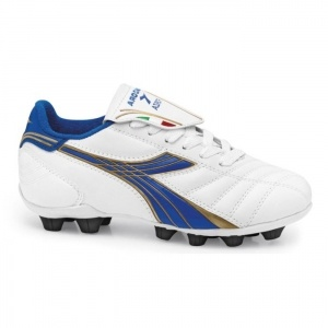 SALE - Diadora Forza Soccer Cleats Kids White Synthetic - Was $36.99 - SAVE $5.00. BUY Now - ONLY $31.99