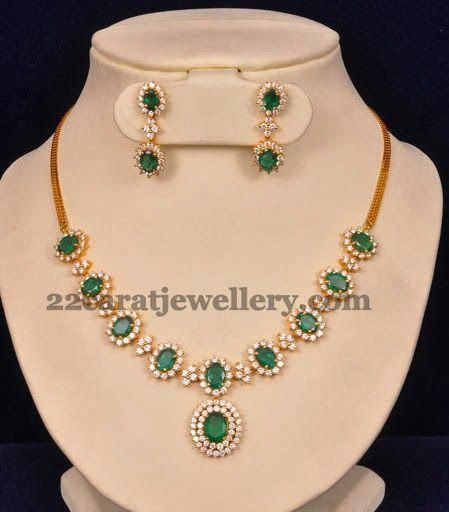 Jewellery Designs Zambian Emeralds Fabulous Necklace