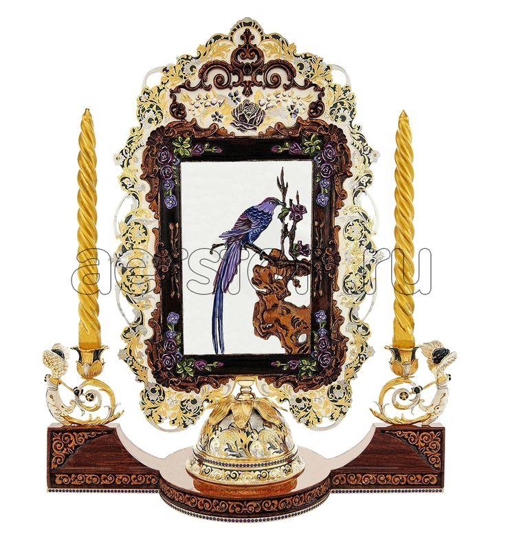 #Зеркало #ДАМСКИЕ #ШТУЧКИ > http://aerston.ru/catalog/zerkala/ #Материалы: #массивдуба, #цветныеэмали, #латунь, #серебро, #золото, #фианиты. Содержание драг. металлов: #Серебро925, Золото (999,9) - 9 мкм, #Никель - 20 мкм. Габаритные размеры: высота - 470 мм, длина - 405 мм, ширина - 180 мм. Данное изделие укомплектовано: #подарочной коробкой из натуральных пород дерева. #Авторскаяработа #дамскиештучки #подароклюбимой #любимой #подарокжене #подарокженщинам #подарокженщине #подарок #подарки
