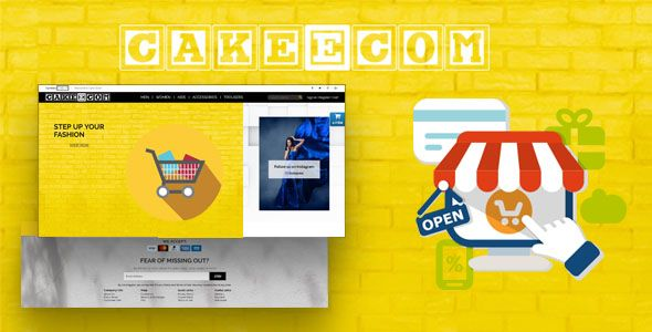 CakeEcom - E-commerce Solution Nulled | Nulled Wordpress