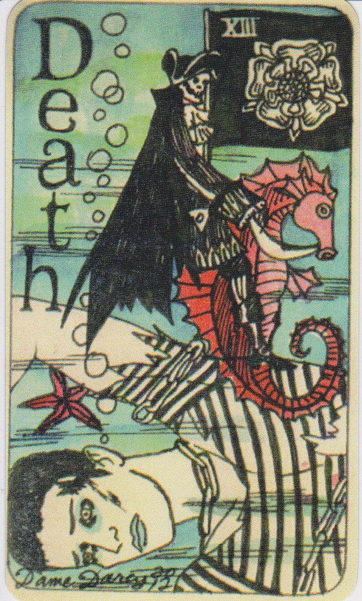 Death. Major Arcana. Tarot