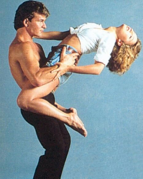 "Johnny & Baby- ""Dirty Dancing""--Swayze & Grey Lit Up The Screen In This Classic Film...Oh, And What A Dancing Pair....Love This Picture...Sweet Memories Of Two Great Actors & People In Their Prime....Baby and Johnny=Forever!!"