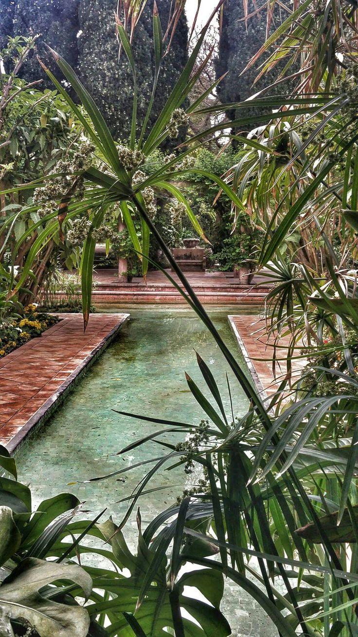 Villa Ephrussi de Rothschild, Saint-Jean-Cap-Ferrat, Francia Giardino spagnolo Ph. Anna Rapisarda #Orticolario