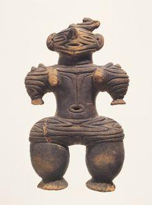 Dogū (Clay figurine) (Excavated from Sugisawa site, Yuza-machi, Akumi-gun, Yamagata) Baked clay H 18.3 Jōmon period 10th-4th century B.C.