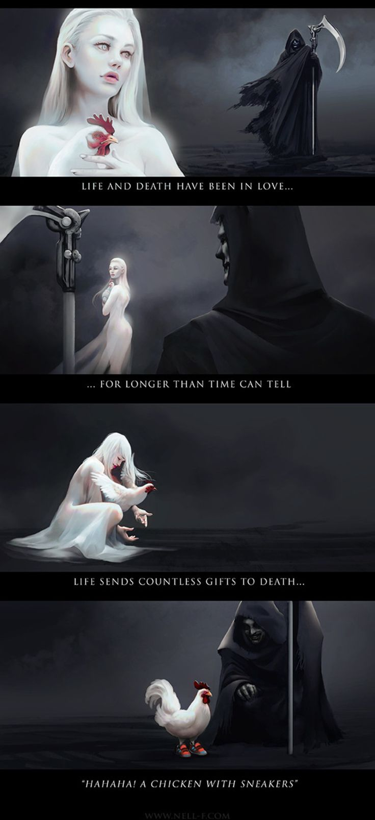 Life and Death [Nell Fallcard]