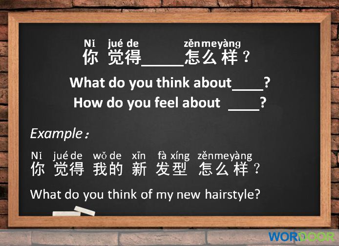 Language use of chinese in