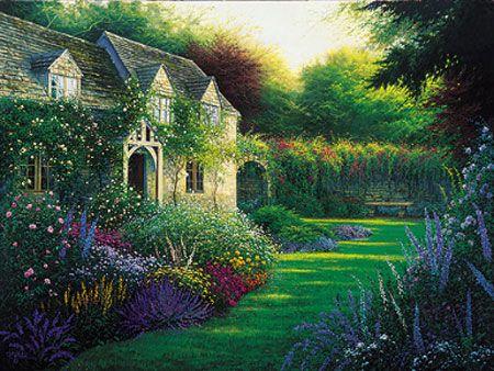 beautiful english country gardens english country cottages - English Country Garden Design