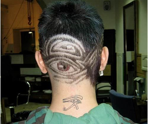 hair tattoo design ideas
