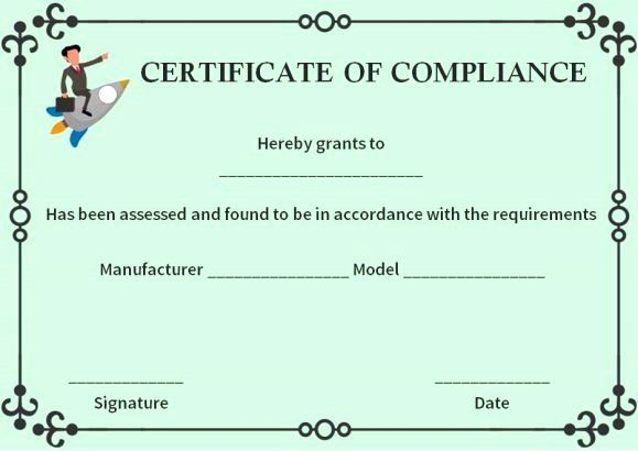 Certificate Of Compliance Template Beautiful 16 Best Certificate Of Pliance Images On P Certificate Of Completion Template Printable Certificates Template Idea