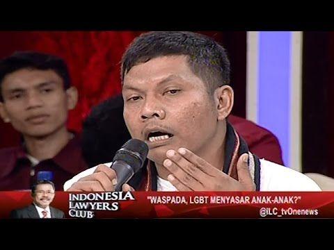Indonesia Lawyers Club - Waspada, LGBT Menyasar Anak-anak? (Part 4) Selengkapnya di http://www.kumpulankabarterkini.com/2016/09/06/indonesia-lawyers-club-waspada-lgbt-menyasar-anak-anak-part-4/